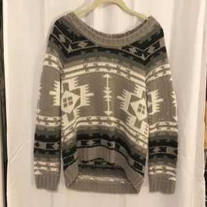 Roxy Aztec Sweater